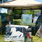 Frogpond Winery Art Show, Niagara on the Lake